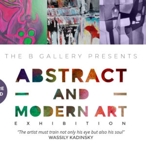 The B Gallery Abstract and Modern Arts 2018 38